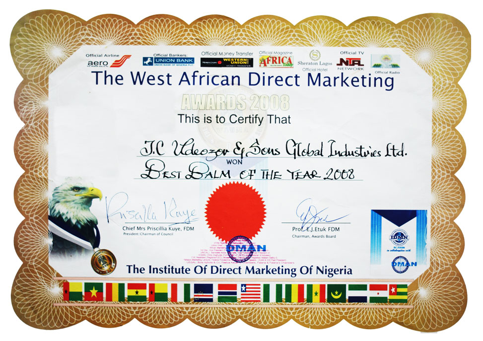 West African Direct Marketing Award